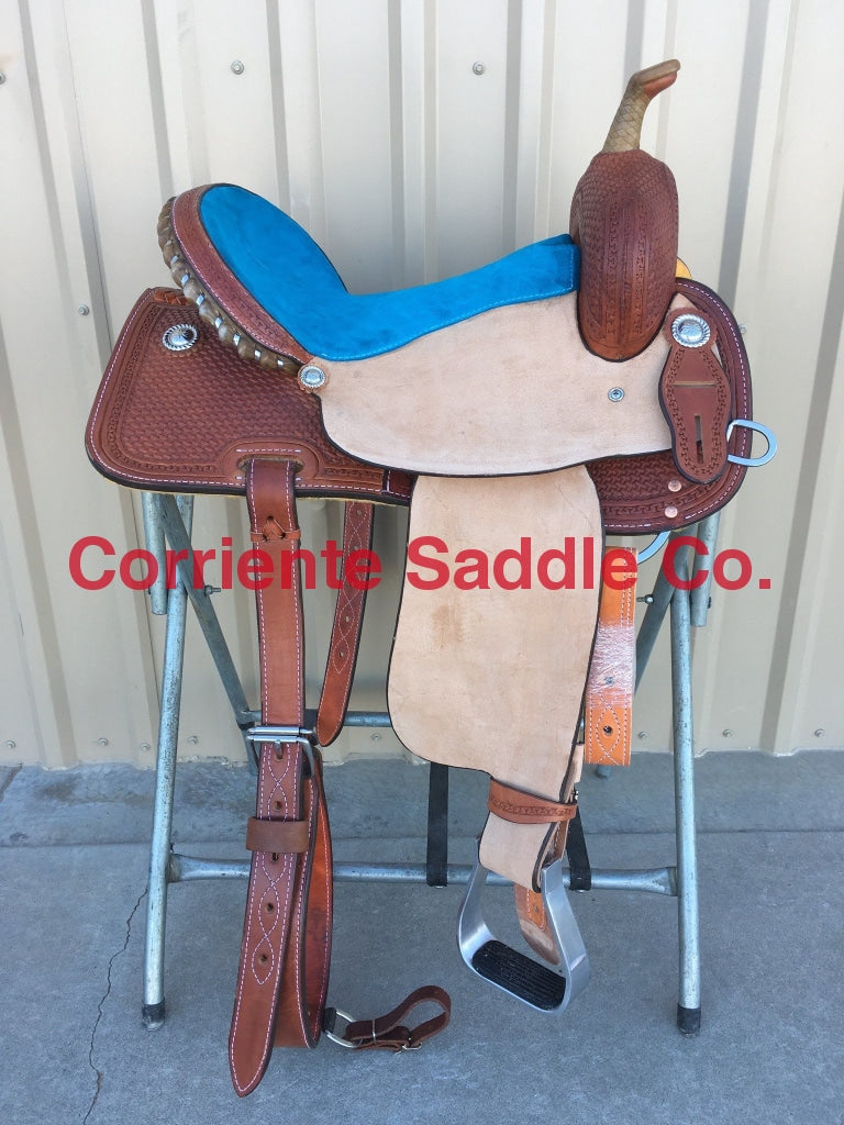 CSB 507A Corriente Barrel Saddle - Corriente Saddle