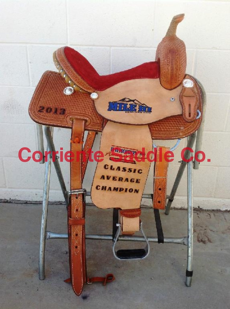 CSB 508 Corriente Barrel Saddle - Corriente Saddle