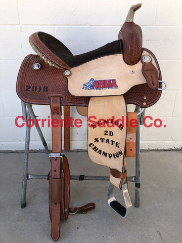 CSB 510A Corriente Barrel Saddle