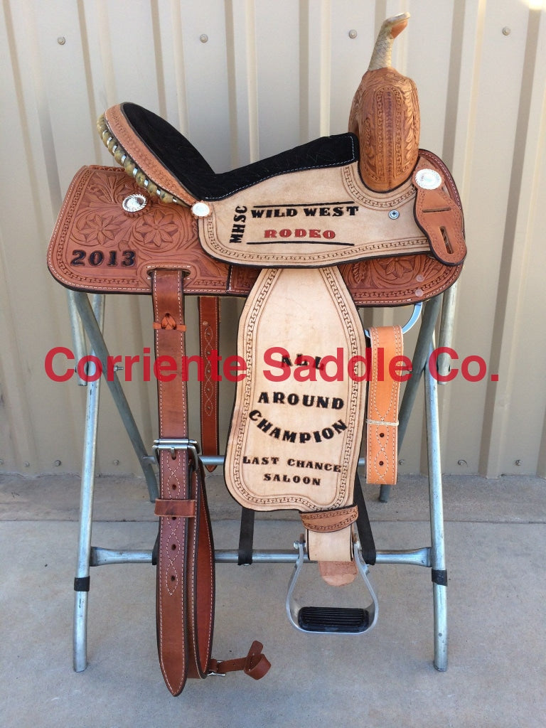CSB 522 Corriente Barrel Saddle - Corriente Saddle