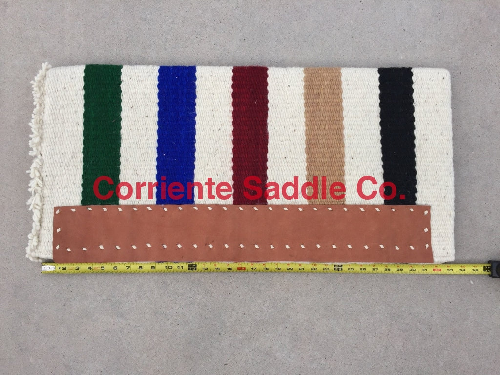 CSBLANKET 130 Original Casa Zia Saddle Blanket - Corriente Saddle