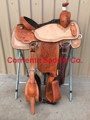 CSCR 200 Corriente Calf Roping Saddle - Corriente Saddle