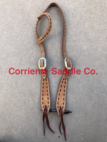 CSHEADSTALL 140 One Eared Headstall