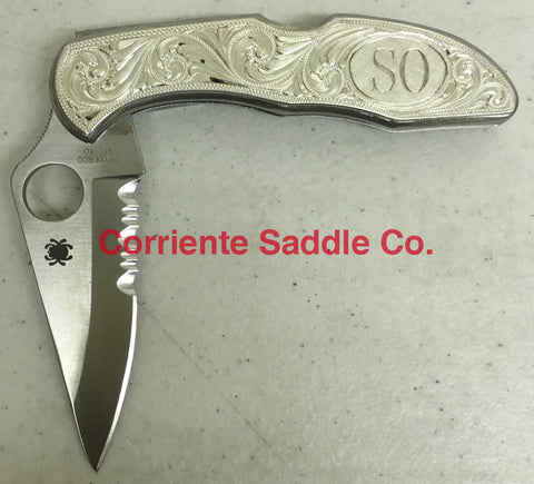 CSK 115 Spiderco Knife