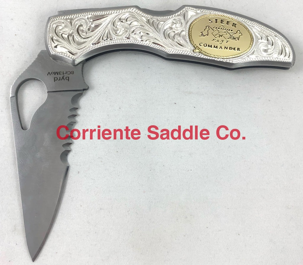 CSK 160 Byrd Knife - Corriente Saddle