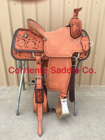 CSR 100A Corriente Team Roping Saddle