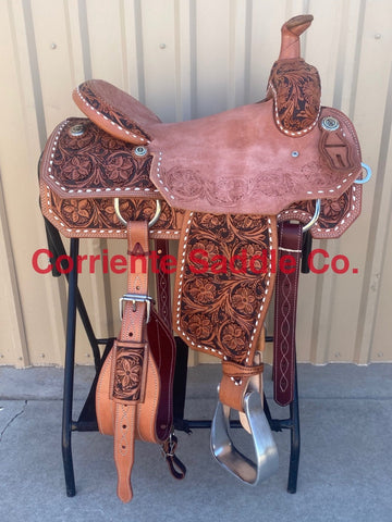 CSR 100G Corriente Team Roping Saddle