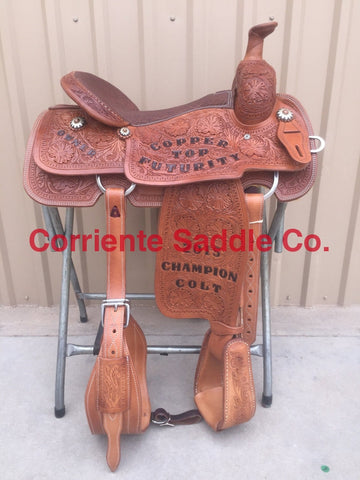 CSR 101 Corriente Team Roping Saddle