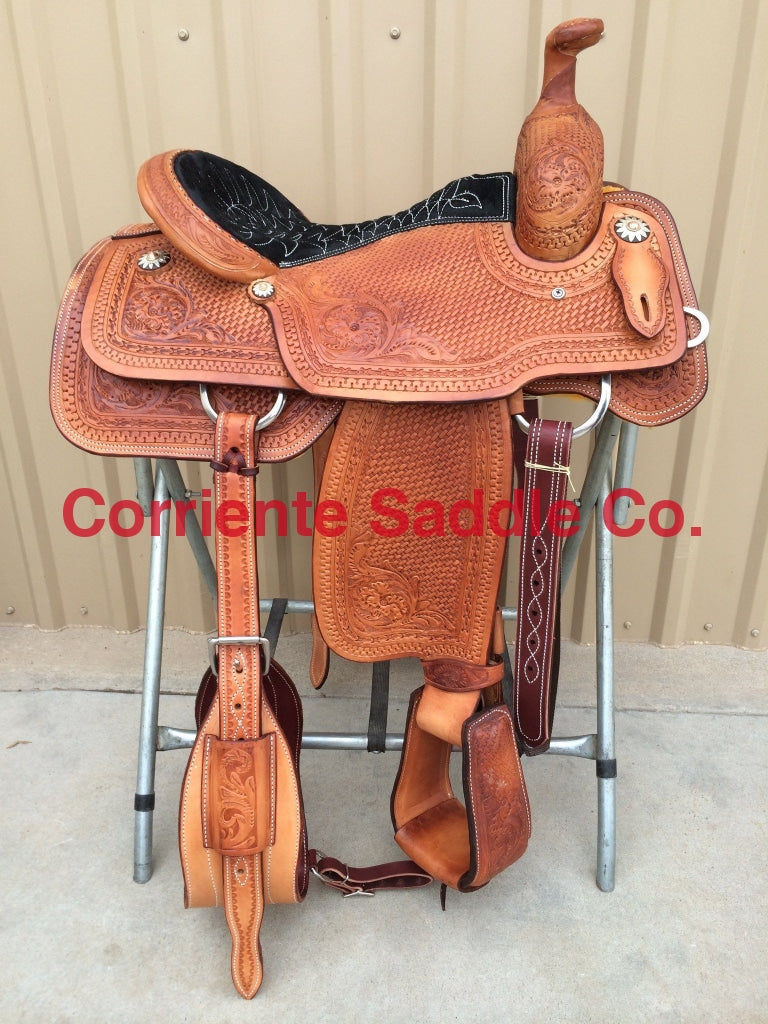 CSR 104 Corriente Team Roping Saddle - Corriente Saddle