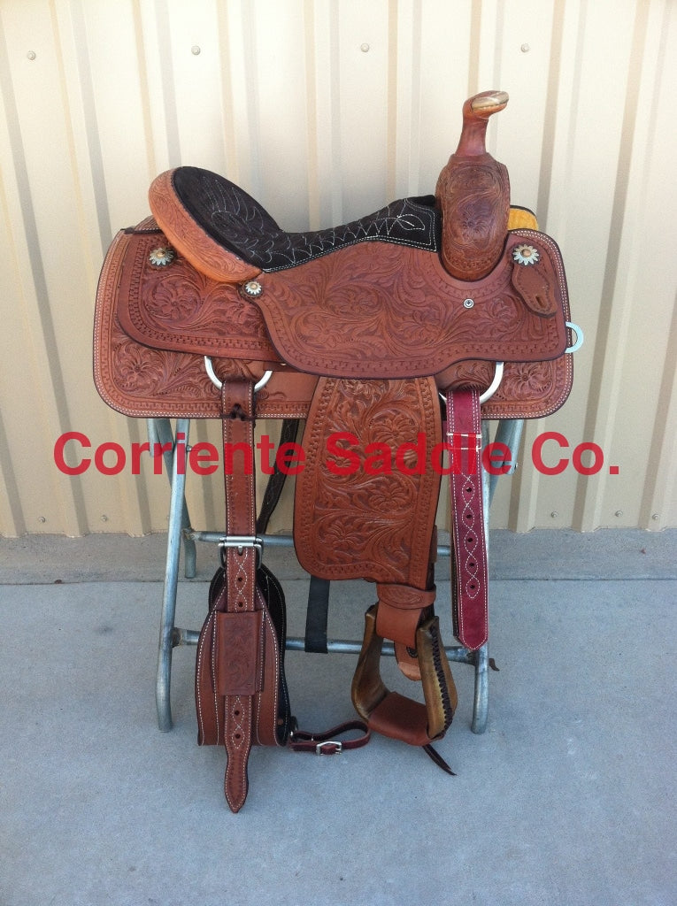 CSR 112 Corriente Team Roping Saddle