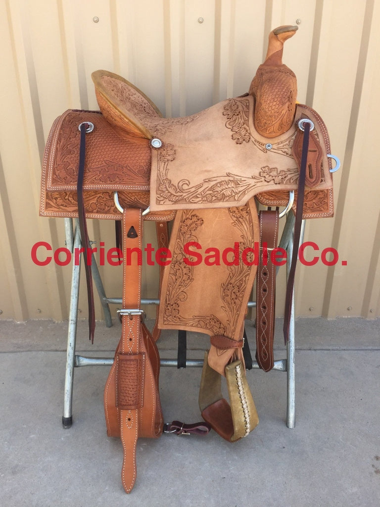 CSR 120C Corriente Team Roping Saddle