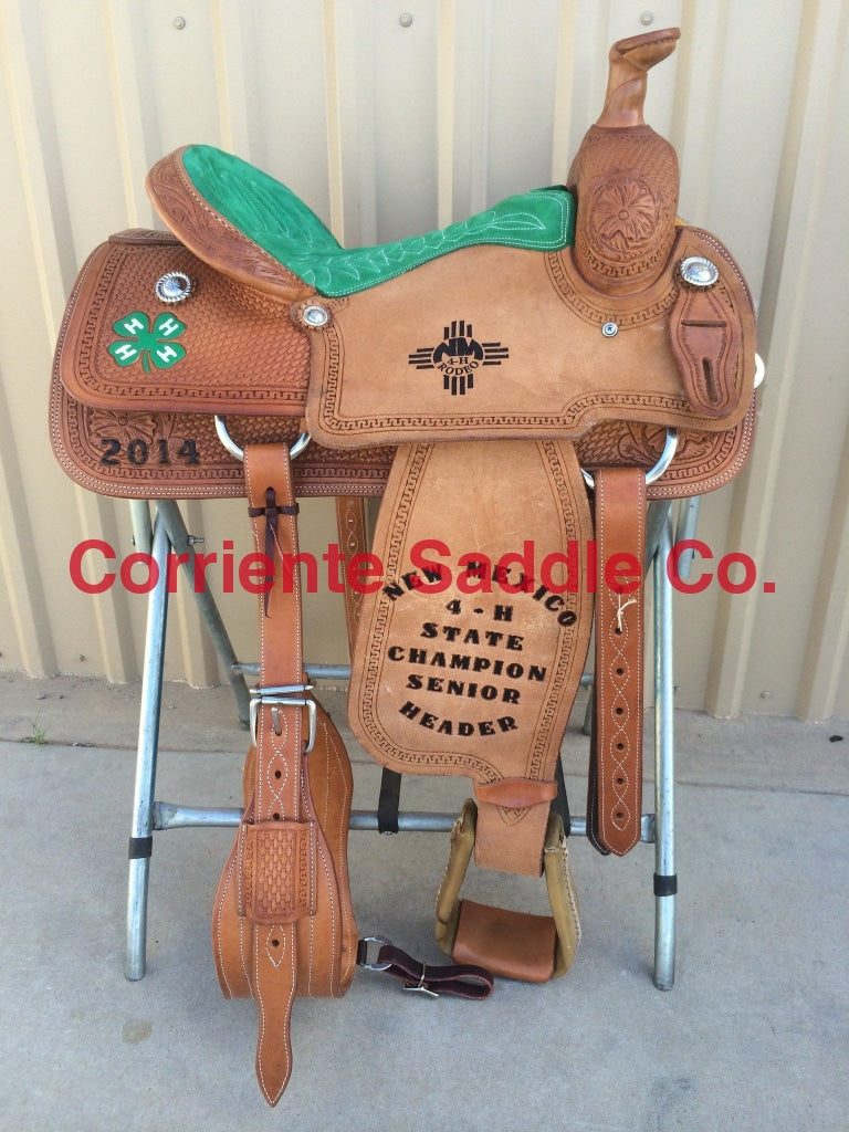 CSR 122 Corriente Team Roping Saddle - Corriente Saddle