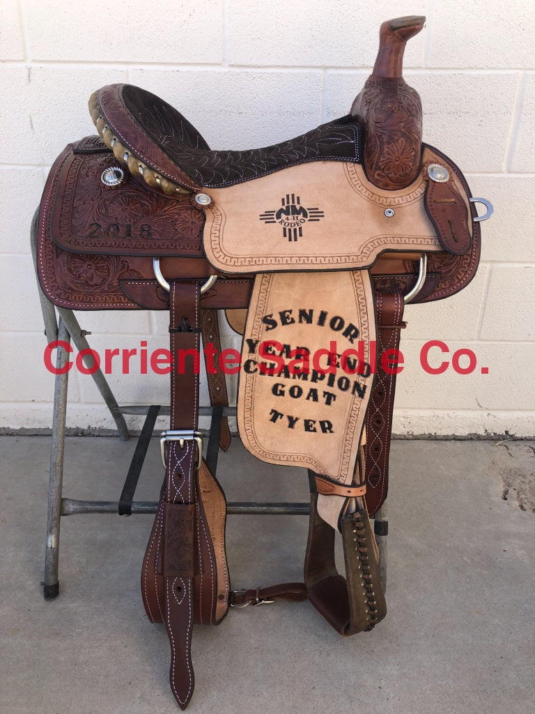 CSR 126AC Corriente Team Roping Saddle
