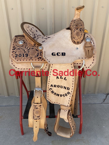 CSR 176A Corriente Team Roping Saddle