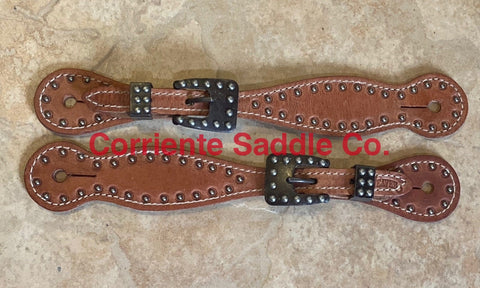 CSSPUR 110 Ladies Dotted Spur Straps