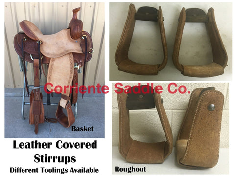 CSSTIRRUP 102 Leather Covered Stirrups