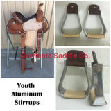 CSSTIRRUP 116 Aluminum Youth Stirrups - Corriente Saddle