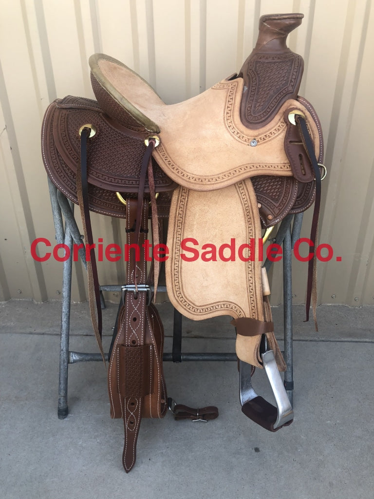 "CSW 440 13"" Youth Corriente Wade Saddle - Corriente Saddle"