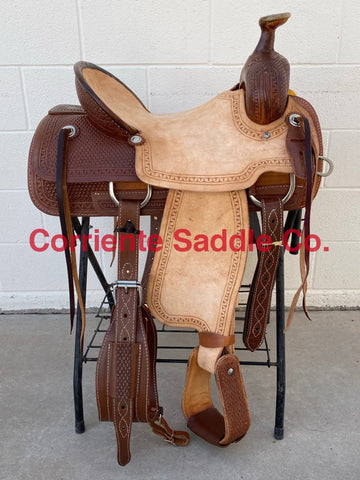 CSWJ 600 Corriente Will James Association Ranch Saddle