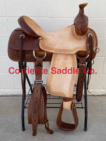 CSWJ 601 Corriente Will James Association Ranch Saddle