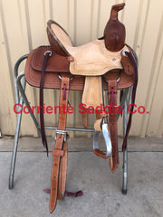 CSY 700 10 Inch Corriente Youth Kids Buckaroo Association - Corriente Saddle