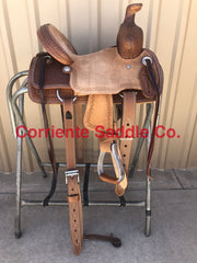 "CSY 700AA 10"" Corriente Youth Association Buckaroo Saddle - Corriente Saddle"