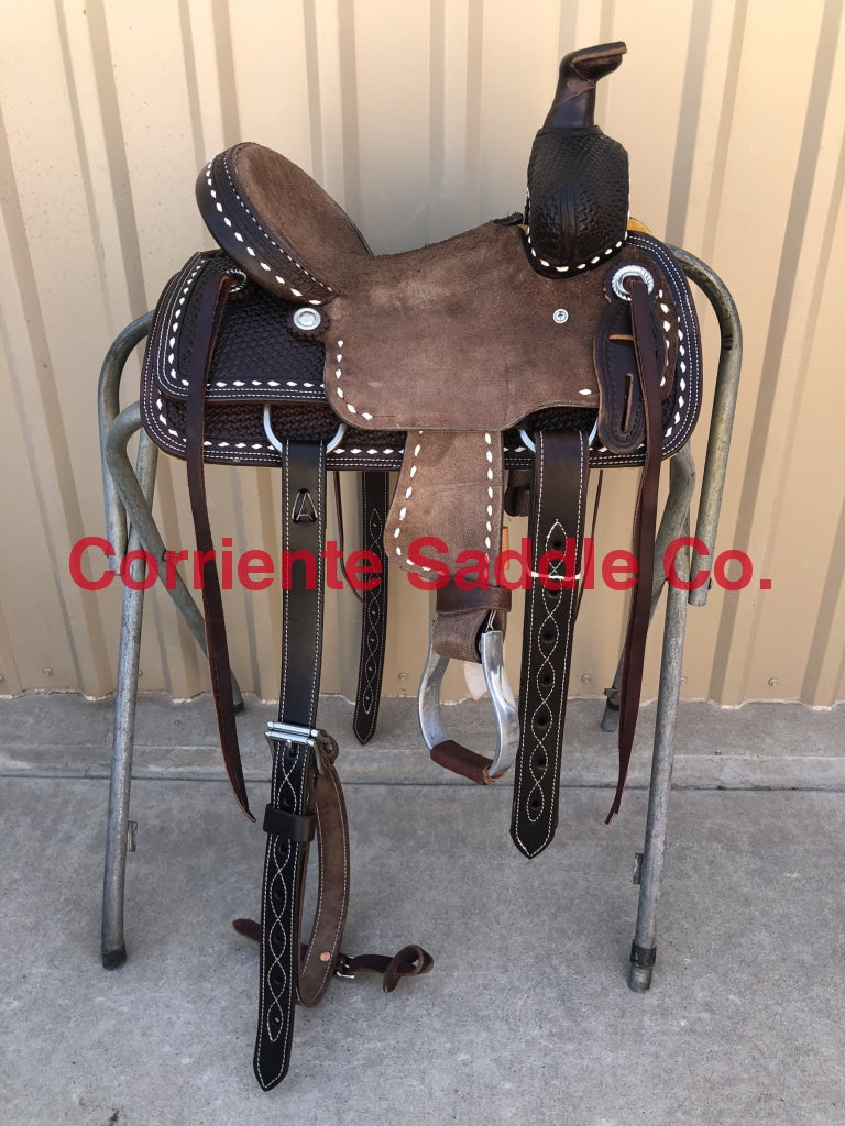 CSY 701JA 10 Inch Corriente Youth Kids Buckaroo Association - Corriente Saddle