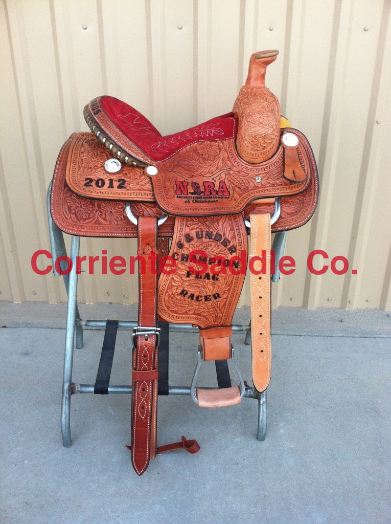 CSY 721 13 Inch Corriente Youth Kids Roping Saddle