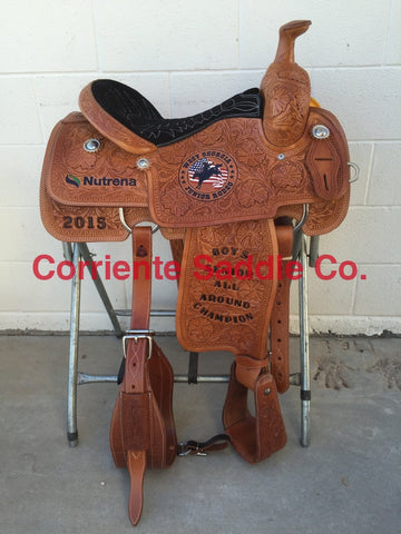 Example 13 Custom Logo On Saddle