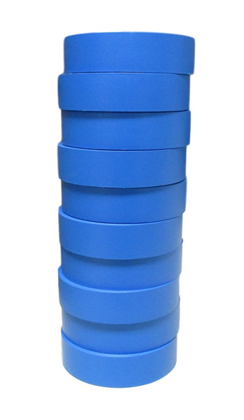 "TradeGear Blue Electrical Tape Matte, 10 Pk Colored Durable Adhesive, Waterproof PVC, Rubber Resin, UL Listed, 60' x ¾"" x 0.07"", Suitable for Use At No More Than 600V and 80°C - TradeGear"