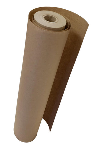 "TradeGear Brown Kraft Paper Roll 18"" X 1200"" (100') – Ideal Wrapping Paper for Gifts, Parcels, Shipping, Kids Art & Craft, Printing – 100% Recycled, Biodegradable, Eco-Friendly - MADE IN THE USA - TradeGear"