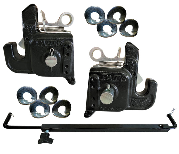 Flexible Durable and Affordable Category #2 Pats Easy Change with Stabilizer Bar Best Quick Hitch System On The Market
