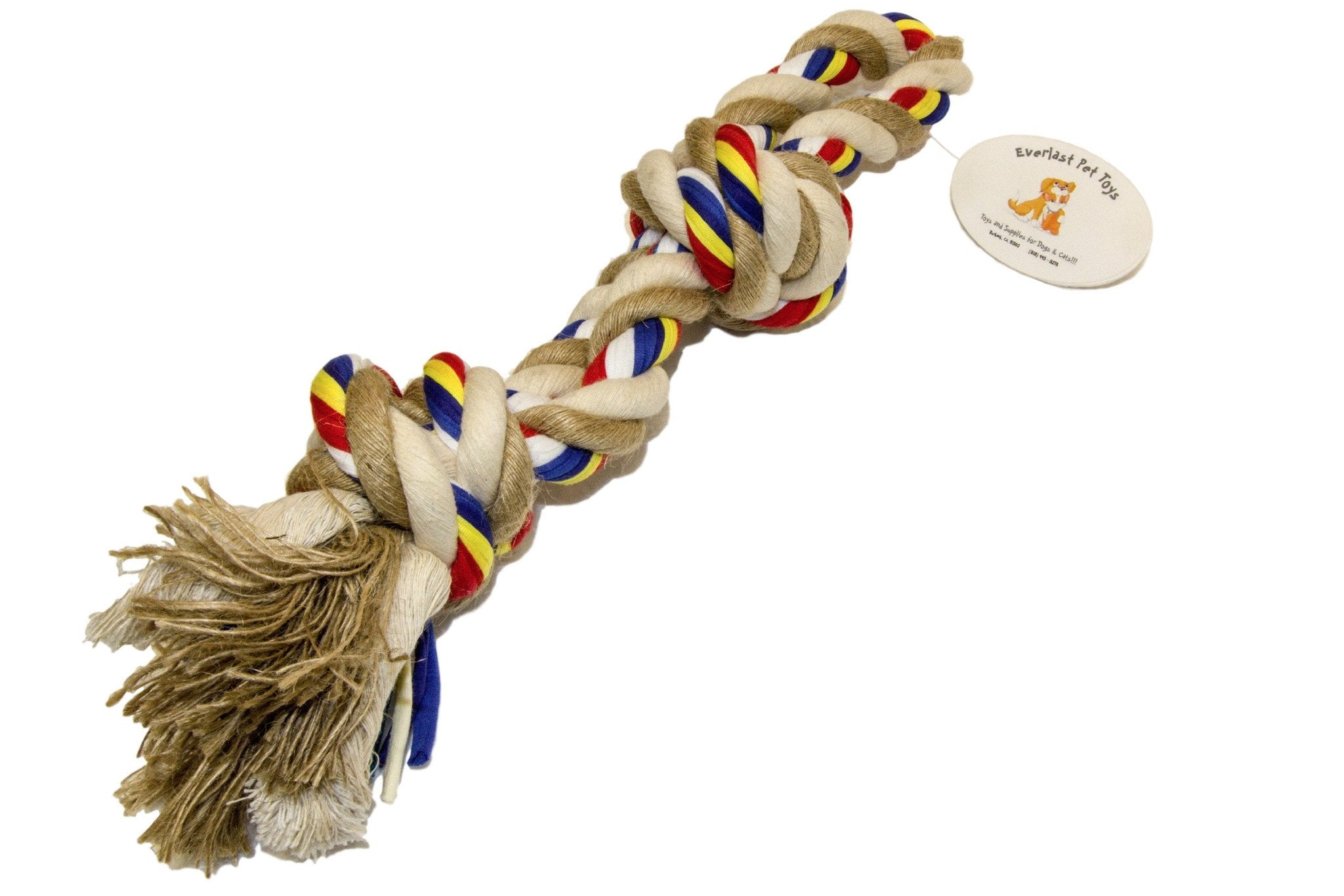 Natural Jumbo Knotted Rope