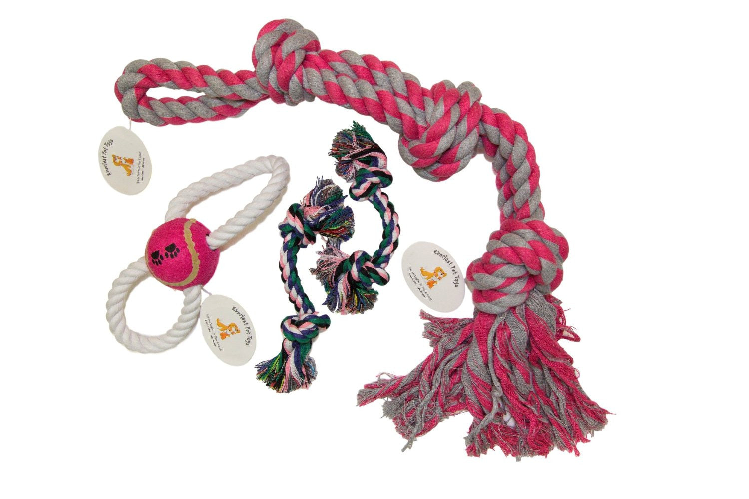 Jumbo Rope Figure '8' Rope & (2) Small Chew Ropes