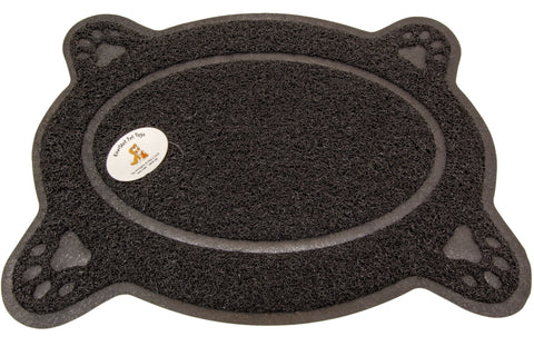 Anti-Slip Rubber Based Feeding Station Mat For Dogs