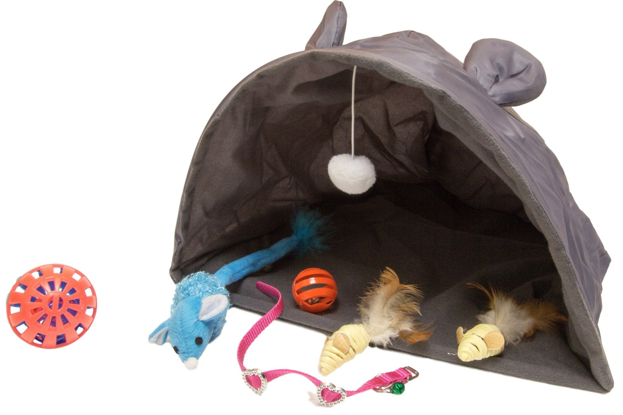 Playtent And Mouse Toy Bundle PLUS For Cats
