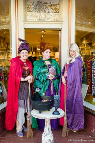 Culpeper Downtown Halloween 2017 Green Roost Virginia Boutique