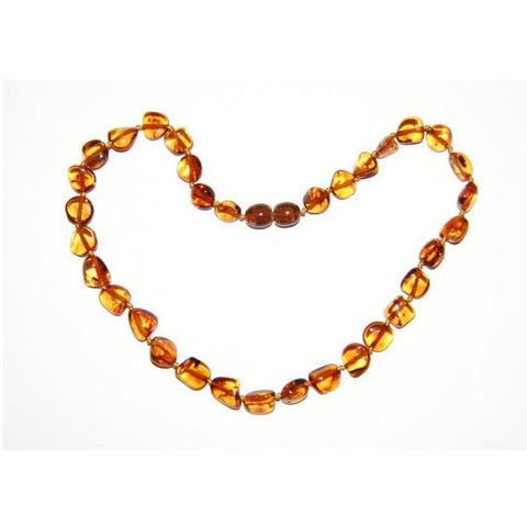 Baltic Amber Teething Necklace Green Roost Culpeper Virginia Boutique