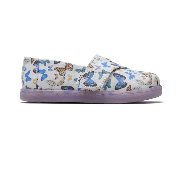 Butterfly Print Tiny TOMS Classics