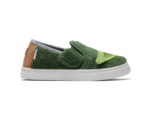 Tiny STAR WARS Yoda Terry Cloth Luca Slip-On