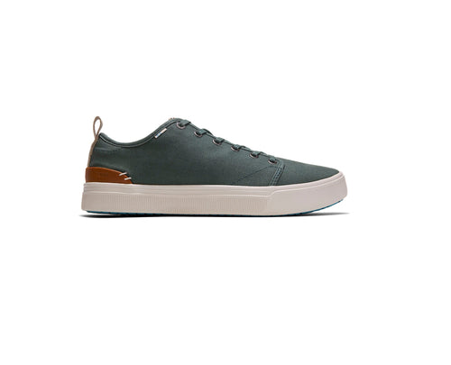 Bonsai Green Heritage Canvas Men's TRVL LITE Low Sneakers