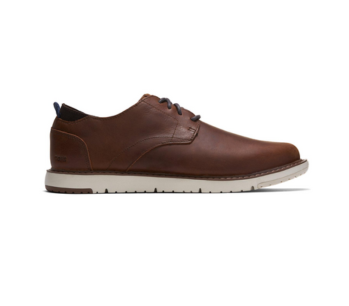 Navi Dress Shoes in Brown Leather