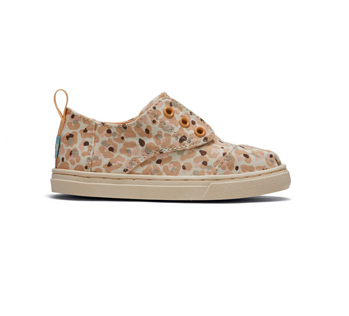 Natural Cheetah Tiny Cordones Sneaker