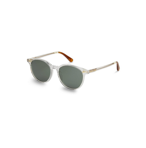 Matte Clear Bellini Sunglasses