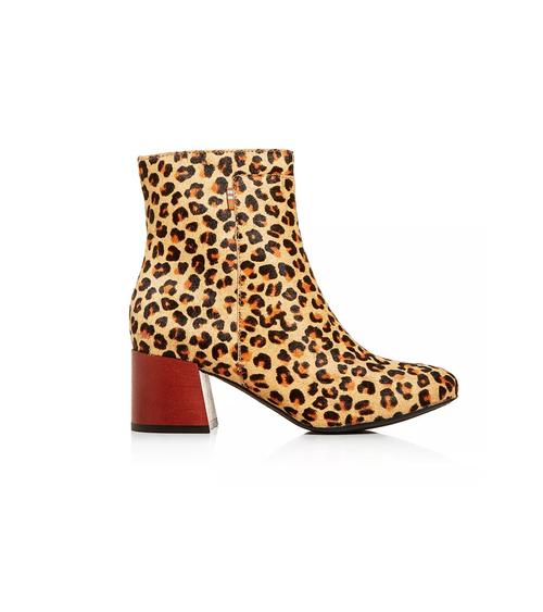 Leopard Calf Hair Women's Emmy Boot