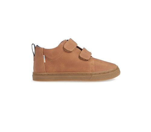Twig Brown Lenny Mid-top Tiny TOMS Sneaker