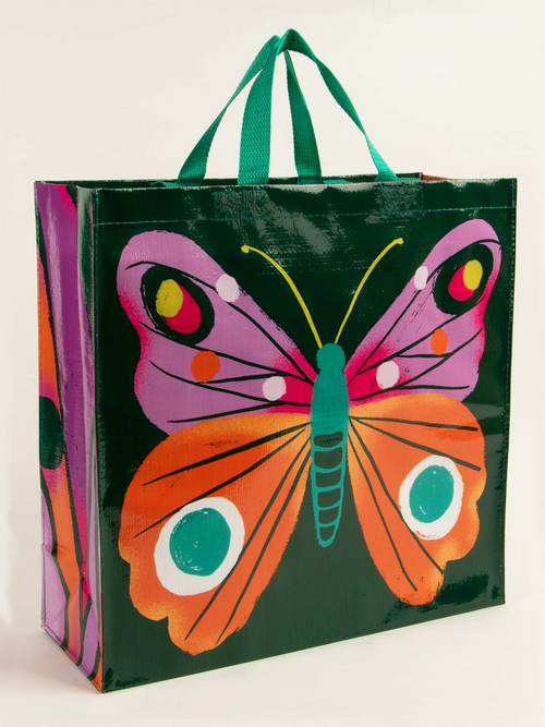 Shopper Tote: Big Butterfly