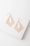 Everly Gold Filigree Dangle Earrings