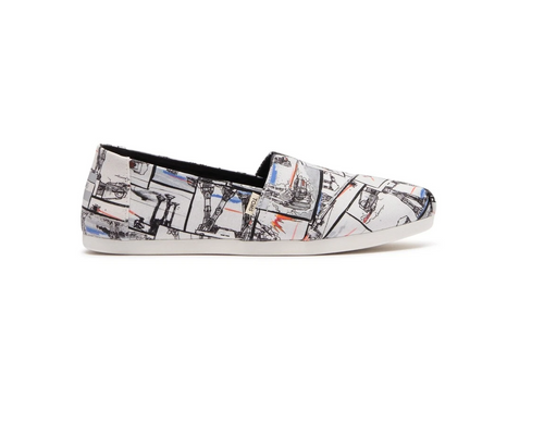 Star Wars X TOMS White AT-AT™ Print Women's Classics
