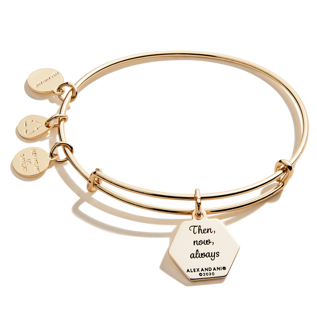 I Love You Bangle in Gold
